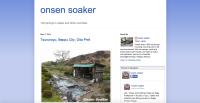 Japan Blog: Onsen Soaker