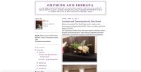 Orchids & Ikebana