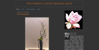 The Nordic Lotus Ikebana Blog