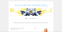 Kuro's Anime Ramble Blog