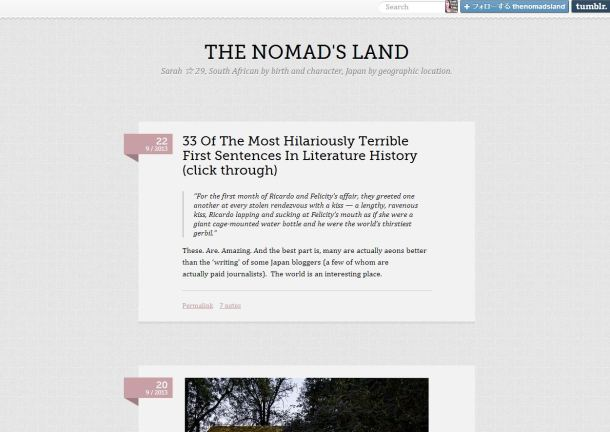 The Nomad's Land