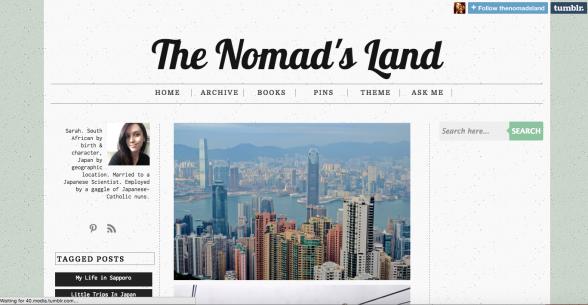 Japan Blog: The Nomad's Land